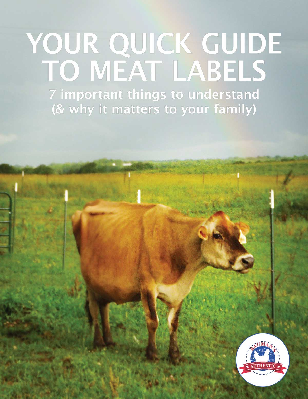 YOUR QUICK GUIDE TO MEAT LABELS