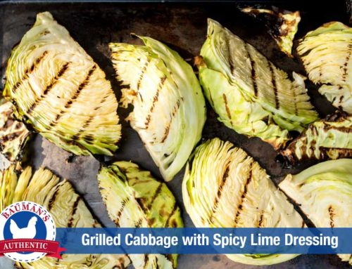 Grilled Cabbage: Fresh, seasonal alternative to sauerkraut