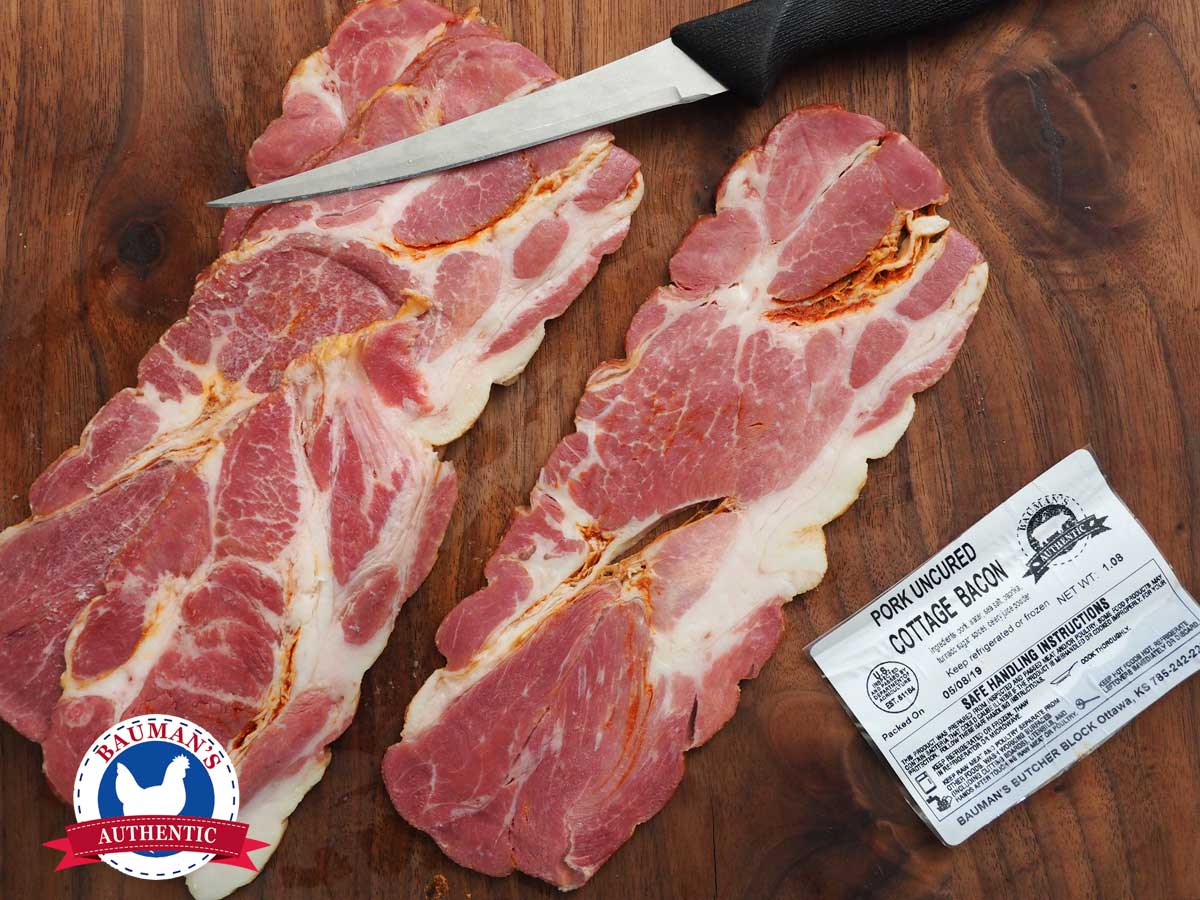 Bauman's Authentic Cottage Bacon