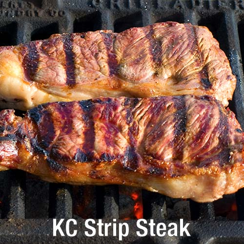Bauman's Beef KC Strip Steak