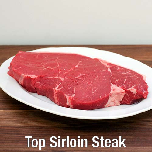 Bauman's Beef Top Sirloin Steak